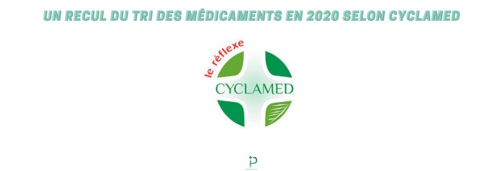 Un recul du tri des médicaments en 2020 selon Cyclamed