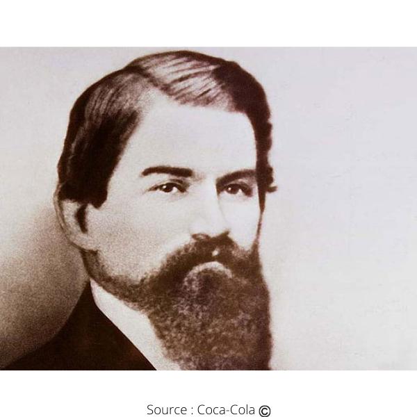 John Stith Pemberton l'inventeur du Coca-Cola
