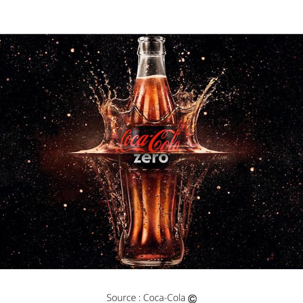 Une bouteille de Coca-Cola