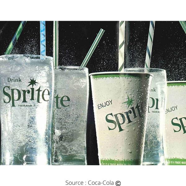 La boisson Sprite est sur le marché