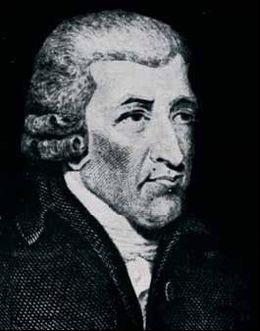 Le pharmacien et chimiste John Walker, inventeur des allumettes qui ont donné lieu à celles que nous connaissons actuellement