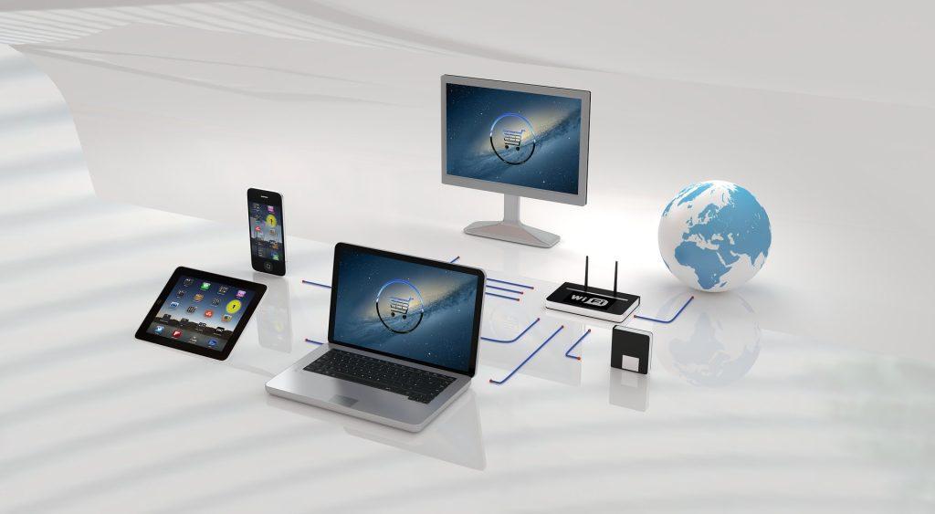 Image illustrant la vente en ligne