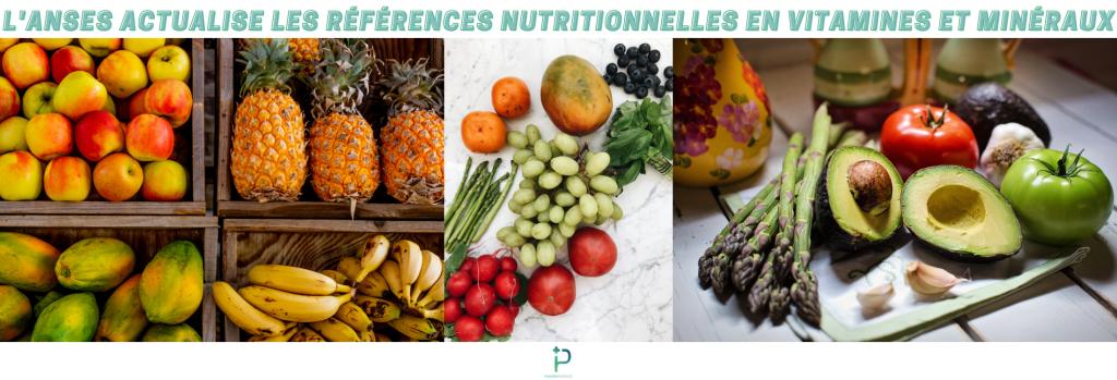 Aliments possédant des vitamines